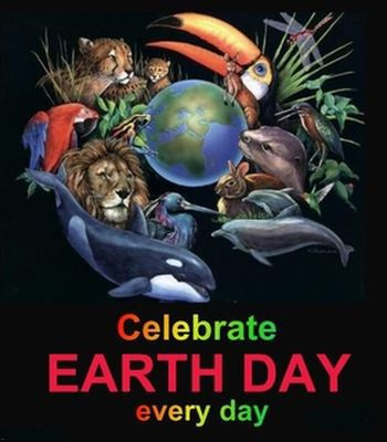 Celebrate earth day...every day.