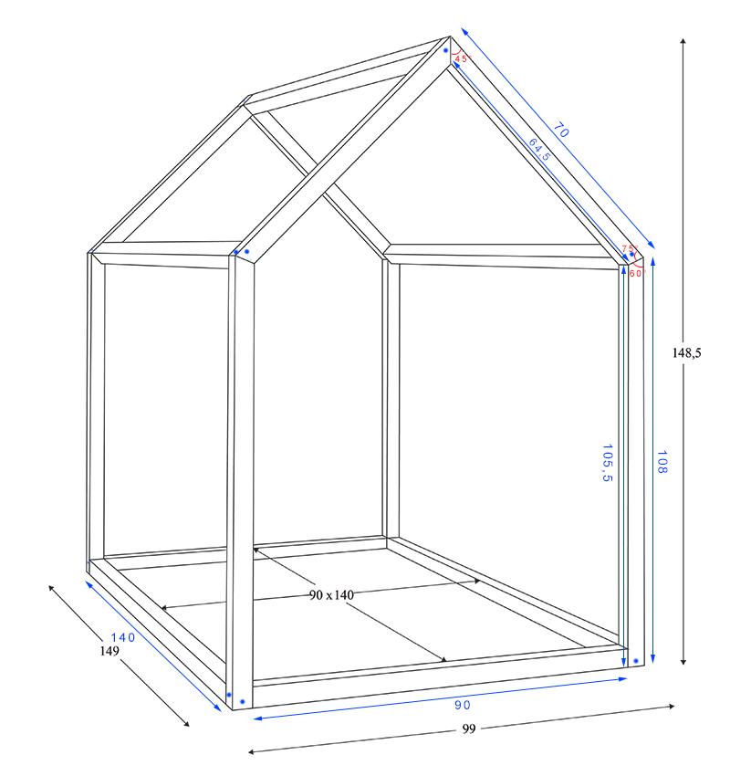 comment construire un lit maison seul maman louve. Black Bedroom Furniture Sets. Home Design Ideas