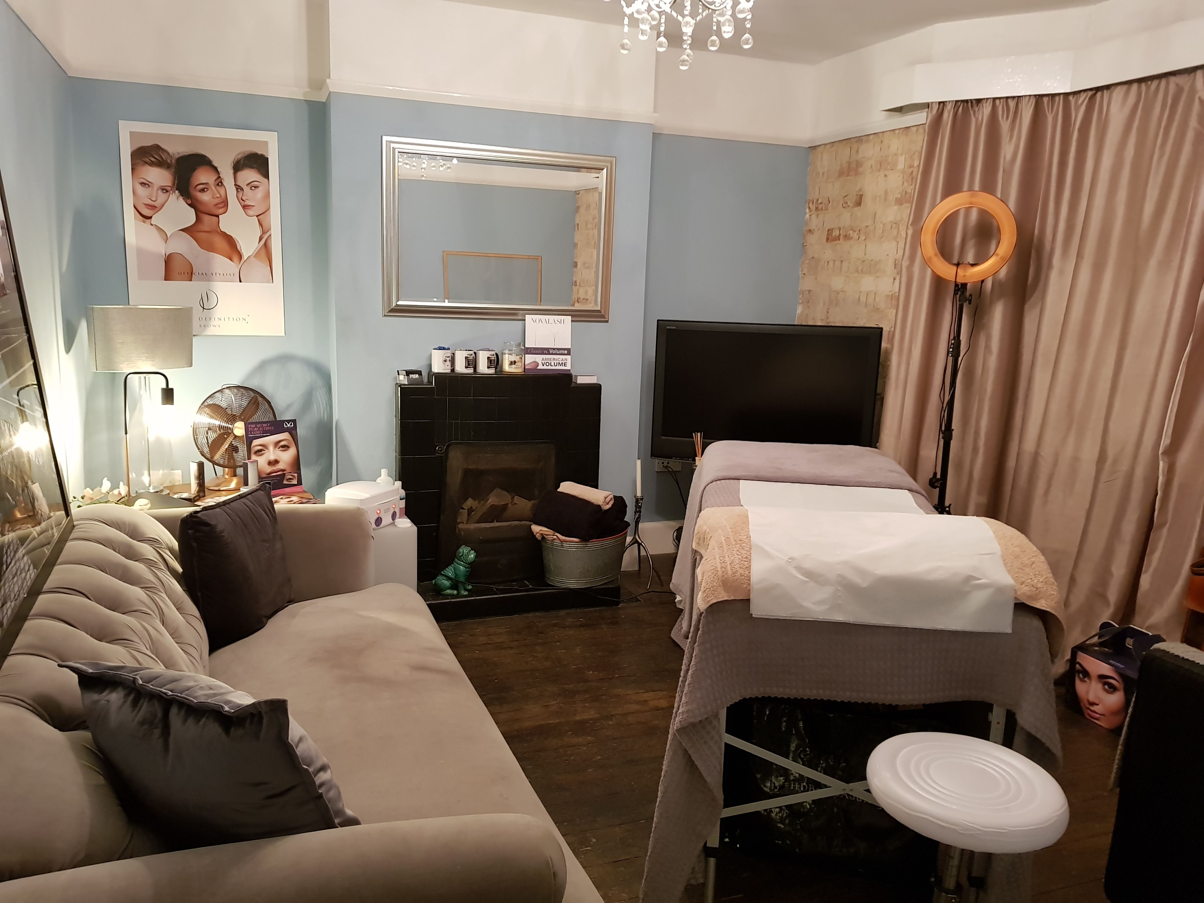 Pmjhoward Lash ExtensionTreatment Room Room and Decor
