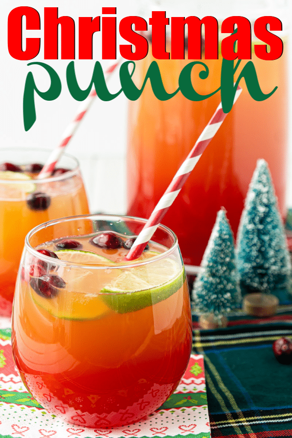 Easy Christmas Punch Recipe (Nonalcoholic) - Play Party Plan
