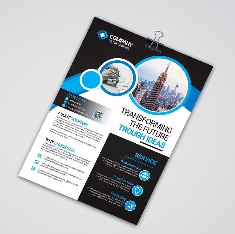 New Print Flyer Template 002462 Mit Bildern Hering