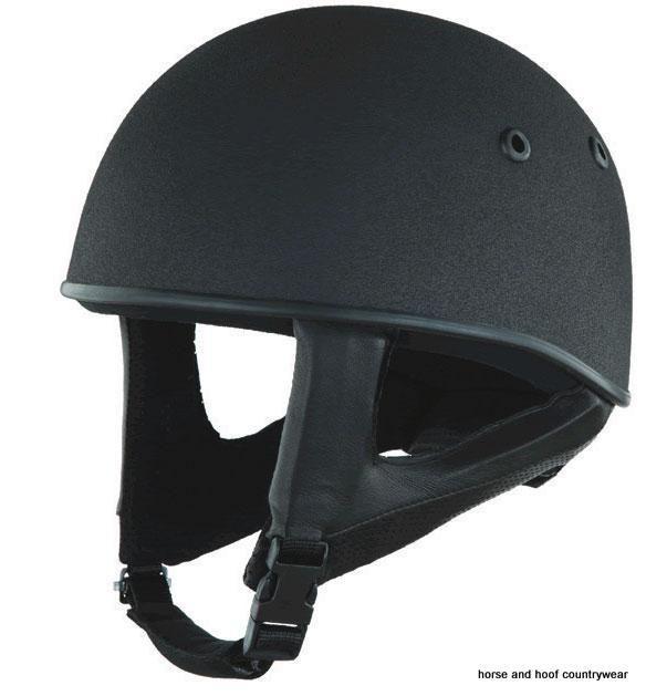 Champion Equestrian Junior Pro lite Kids Safety Wear Riding Skull-Black