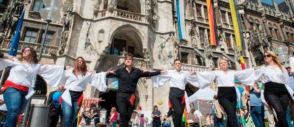 #Europatag auf dem #Marienplatz #München Ein #kunterbuntes #Programm für die ganze #Familie http://bit.ly/1qobIpt