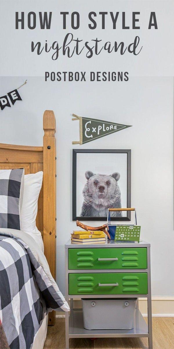 One Room Challenge Week 4 Boy Bedroom