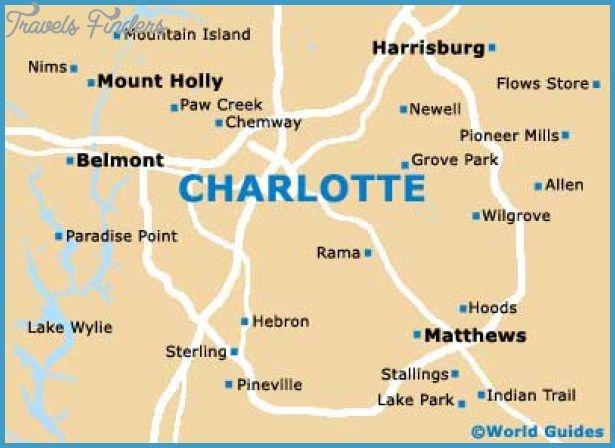 Charlotte Map httptravelsfinderscomcharlottemaphtml