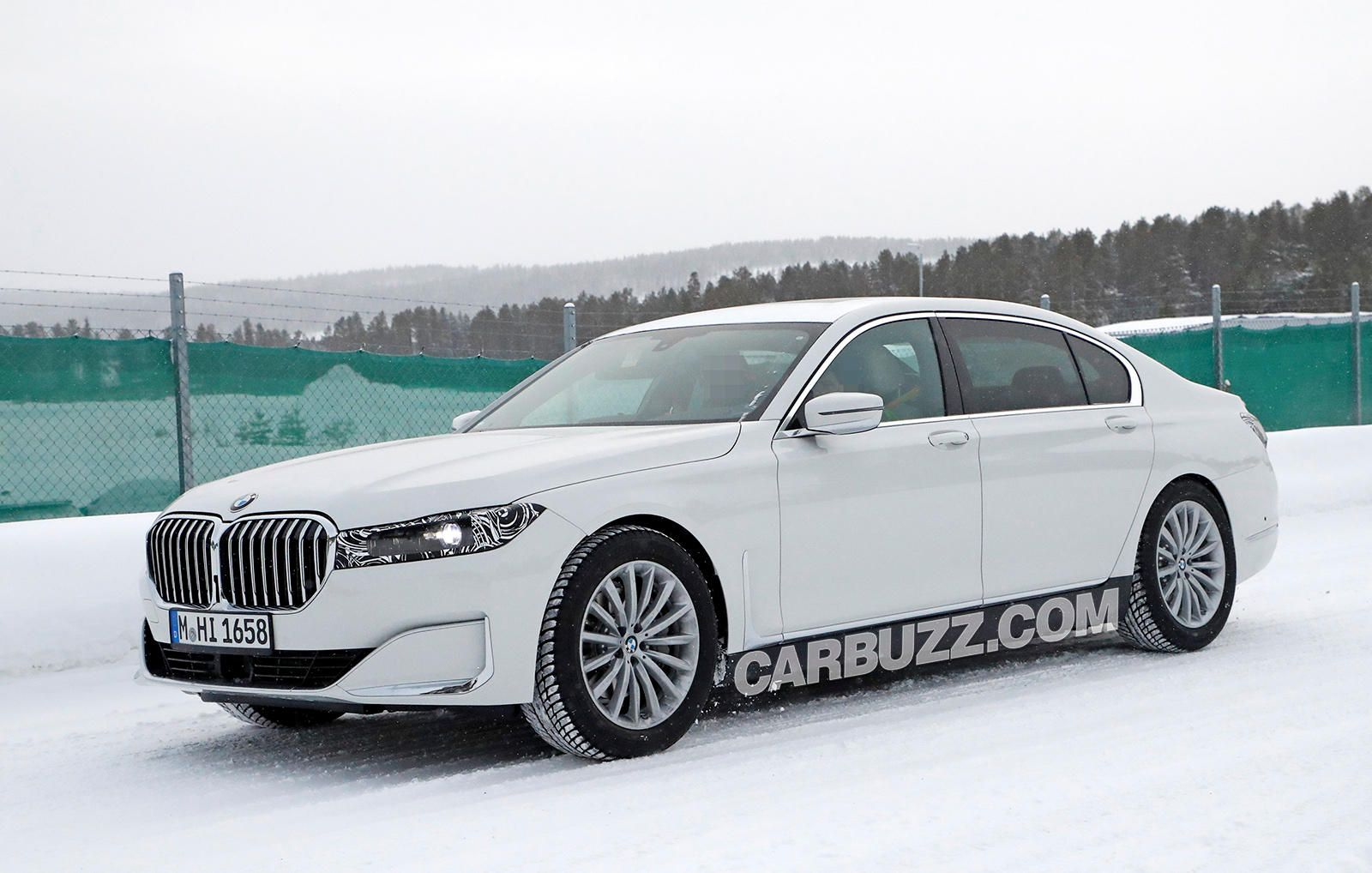Here's An Early Look At The New BMW 7 Series. Here's an