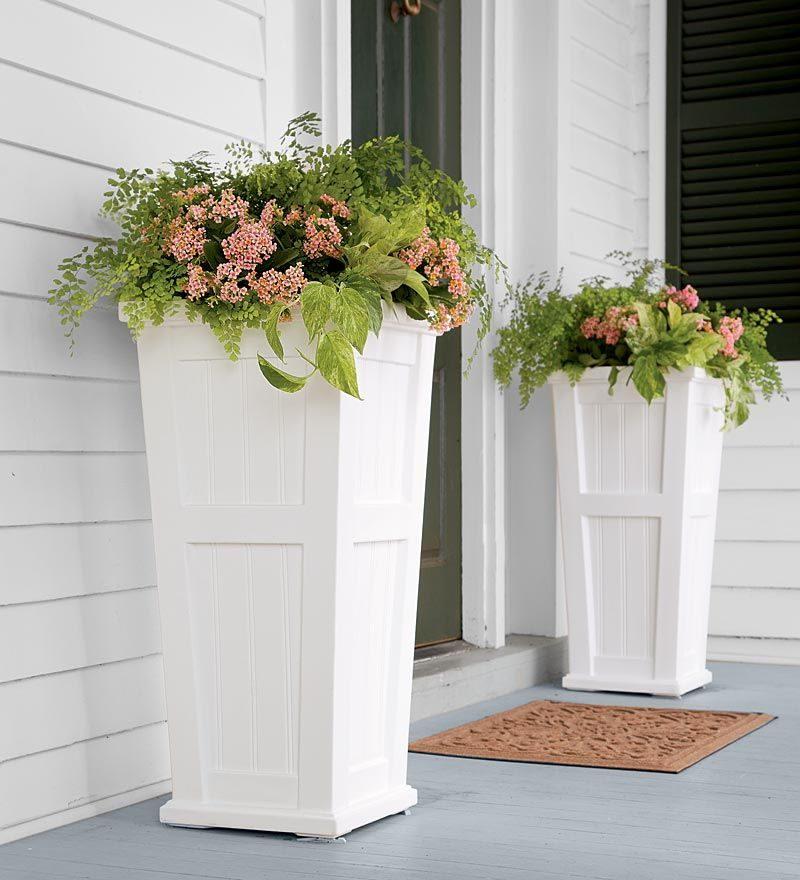 these planter be porch planters spaces ideas back sure and porches check outdoor inspiration to pin sprucing out front gorgeous before up
