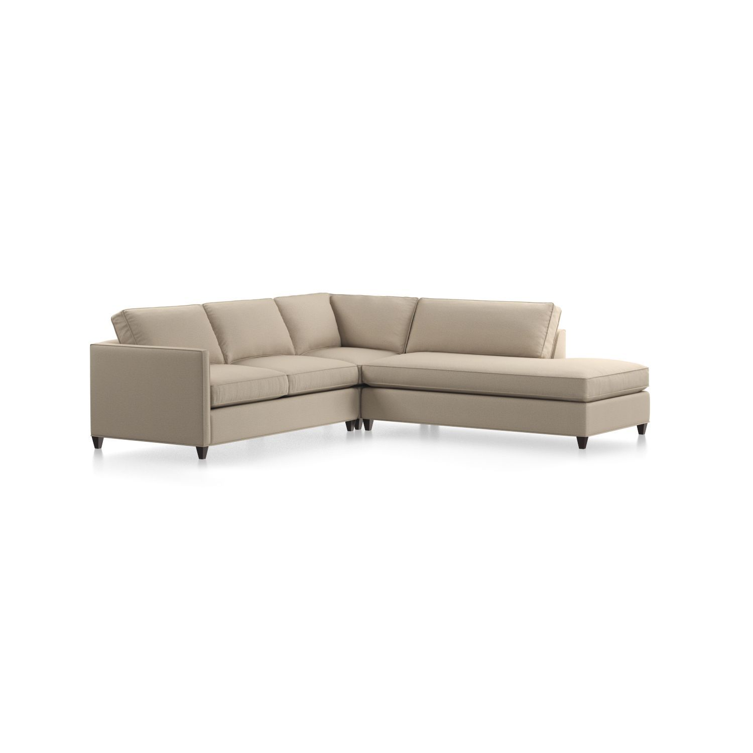 Shop dryden 3 piece sectional for a bit of sparkle and classic definition a hand applied nailhead trim is also available the dryden 3 piece right bumper