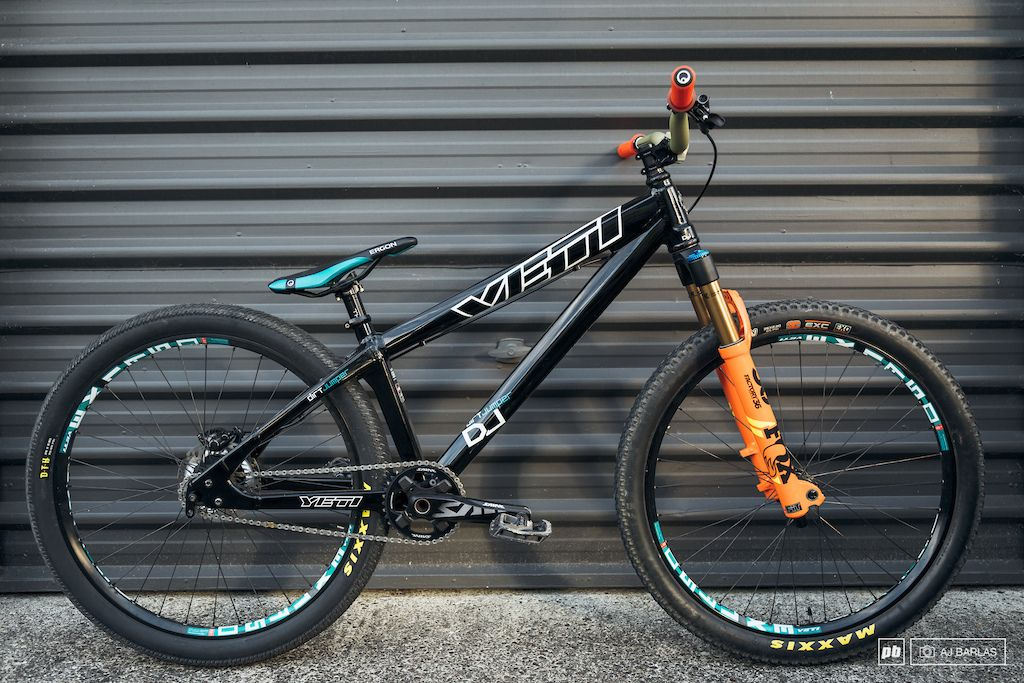 Yeti Carbon Fiber Hardtail Dj Slopestyle Mountain Bike Art Bmx