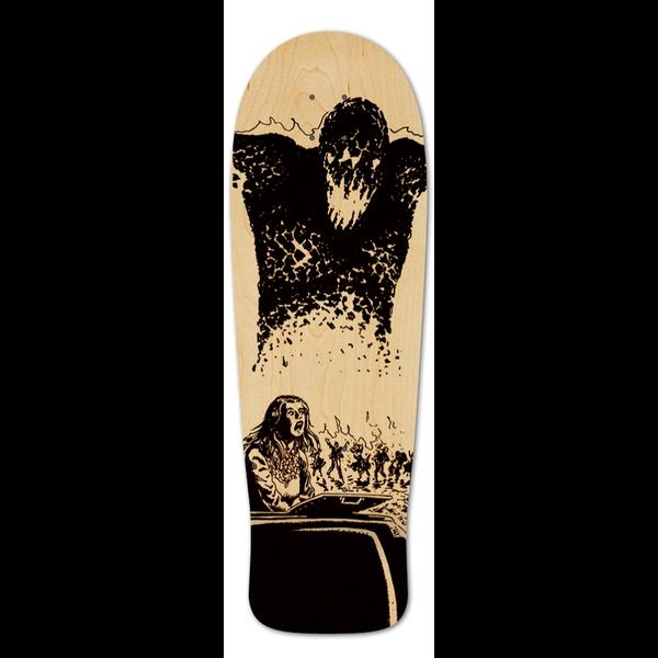 Burning Temptation Old School Skateboard Deck The Brooding Muse Old School Skateboards Skateboard Deck Art Skateboard