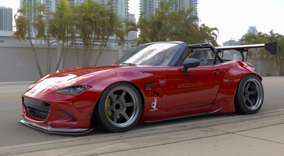 New Mazda Mx 5 Received Wide Body Kit From Tra Kyoto Voiture Moteur Wankel Mazda
