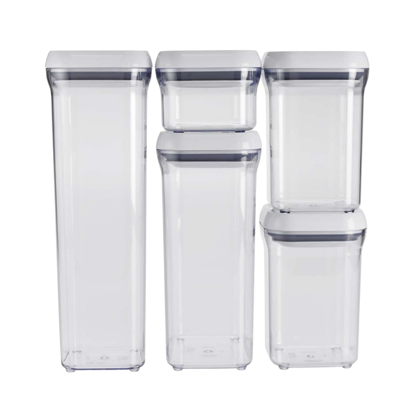 $50  5 Piece Pop Container Set