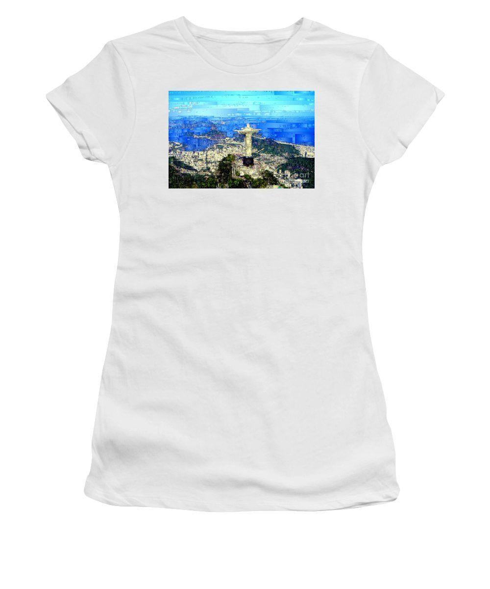 Women's T-Shirt (Junior Cut) - Cristo In Rio De Janeiro Brazil