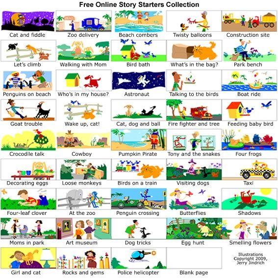 Creative writing activities for kids Homeschool Activities