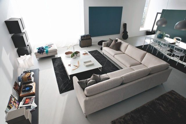 Décoration et design du salon moderne en 107 idées superbes! | Les ...
