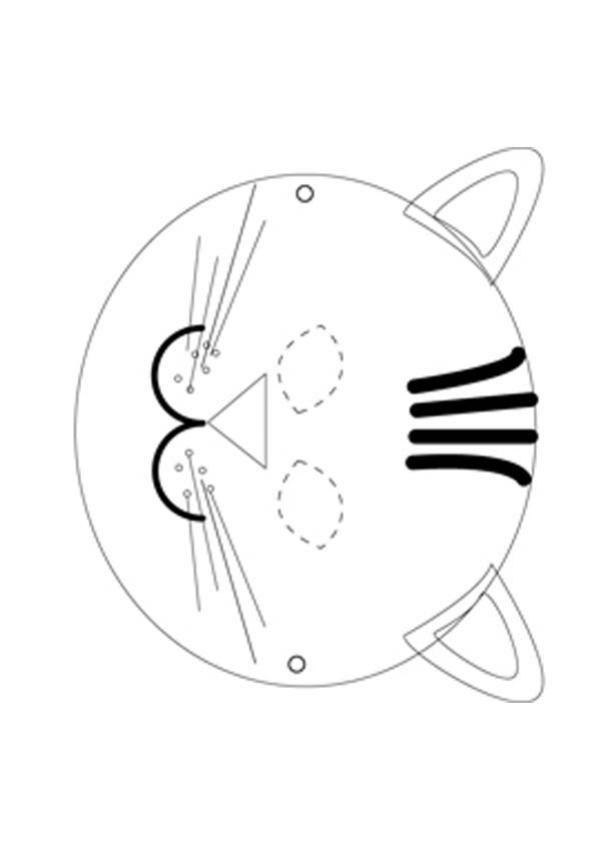 Cat mask template | Carnival and masks | Pinterest | Diy kostüme ...