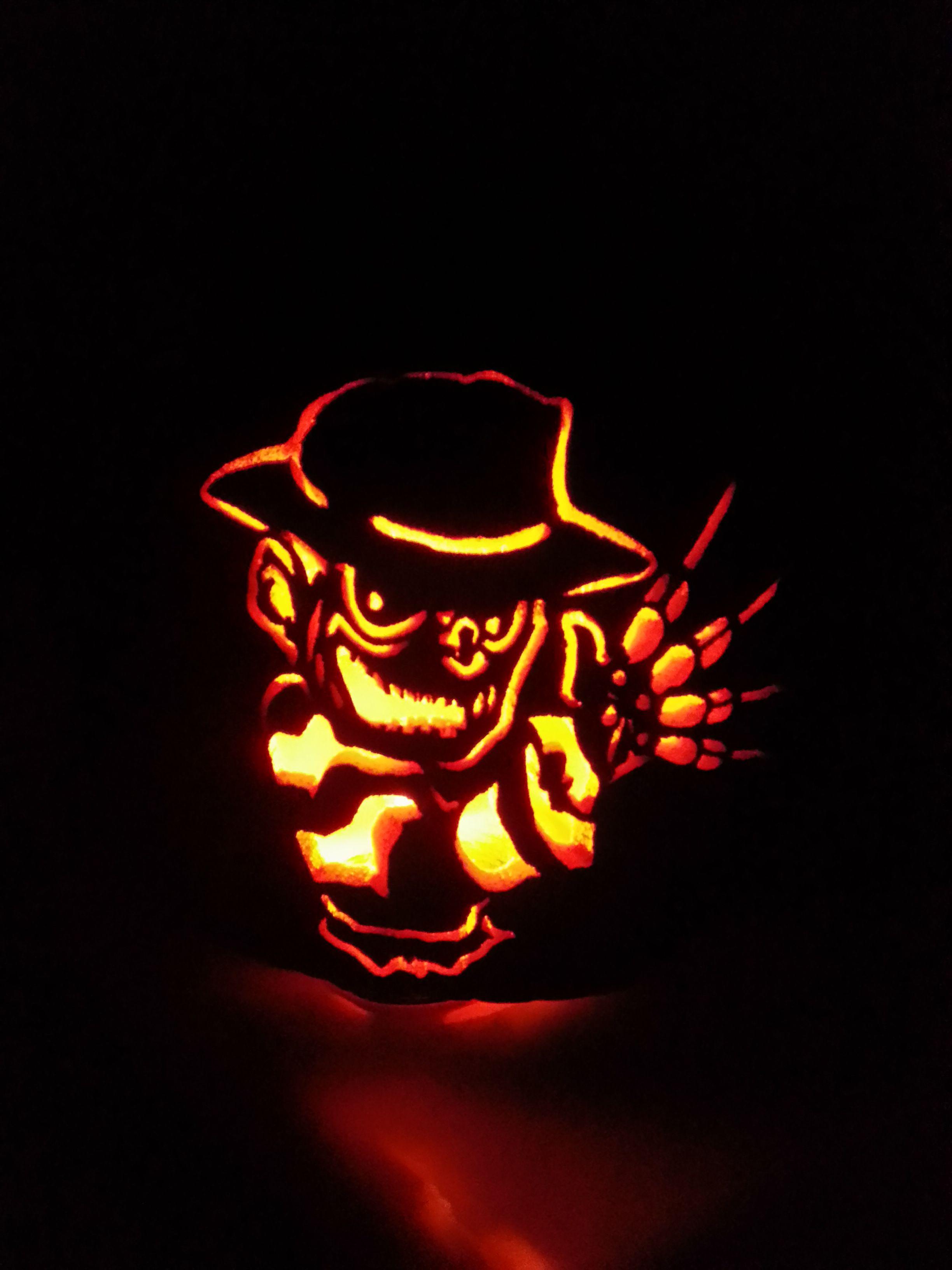 Freddy Krueger Pumpkin Carving Fake Pumpkins Pumpkin Patch