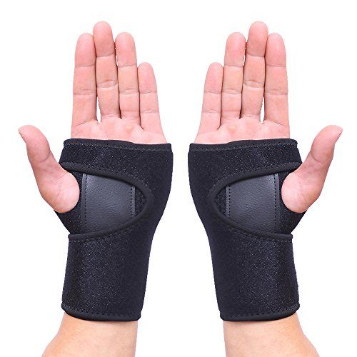 Wrist Brace Oodvj Wrist Support Removable Splint Martial Arts