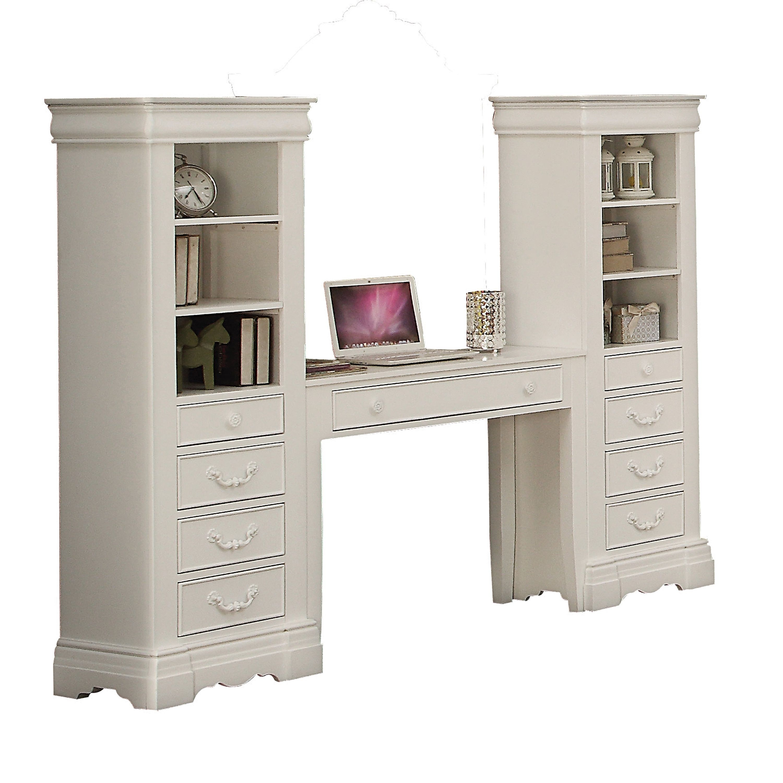 white acme furniture estrella computer desk computer desk white rh pinterest com