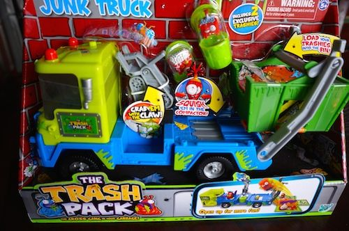 Trash Pack Junk truck jude just FREAKED OUT when he saw this