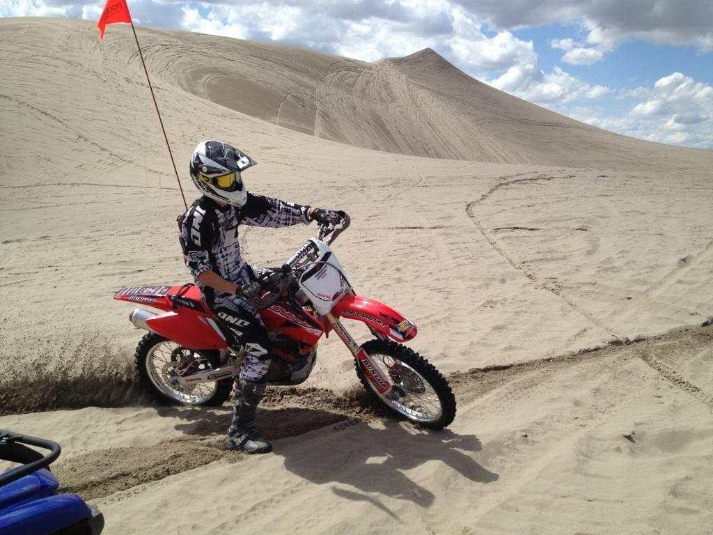 Dirt Biking At St Anthony Sand Dunes Dirt Bikes Bike Dirtbikes