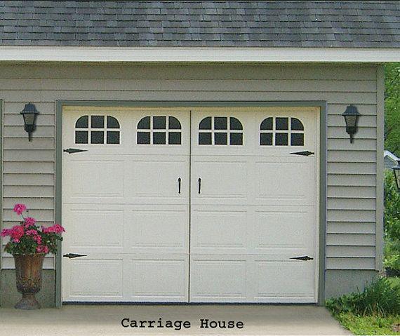 Garage Door Window Decal Carriage House Single Stall
