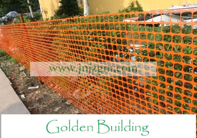 Orange Safety Fence/snow fence. Safety fence is used to delineate project parameters such as race events, small excavations, construction projects and public gathering.