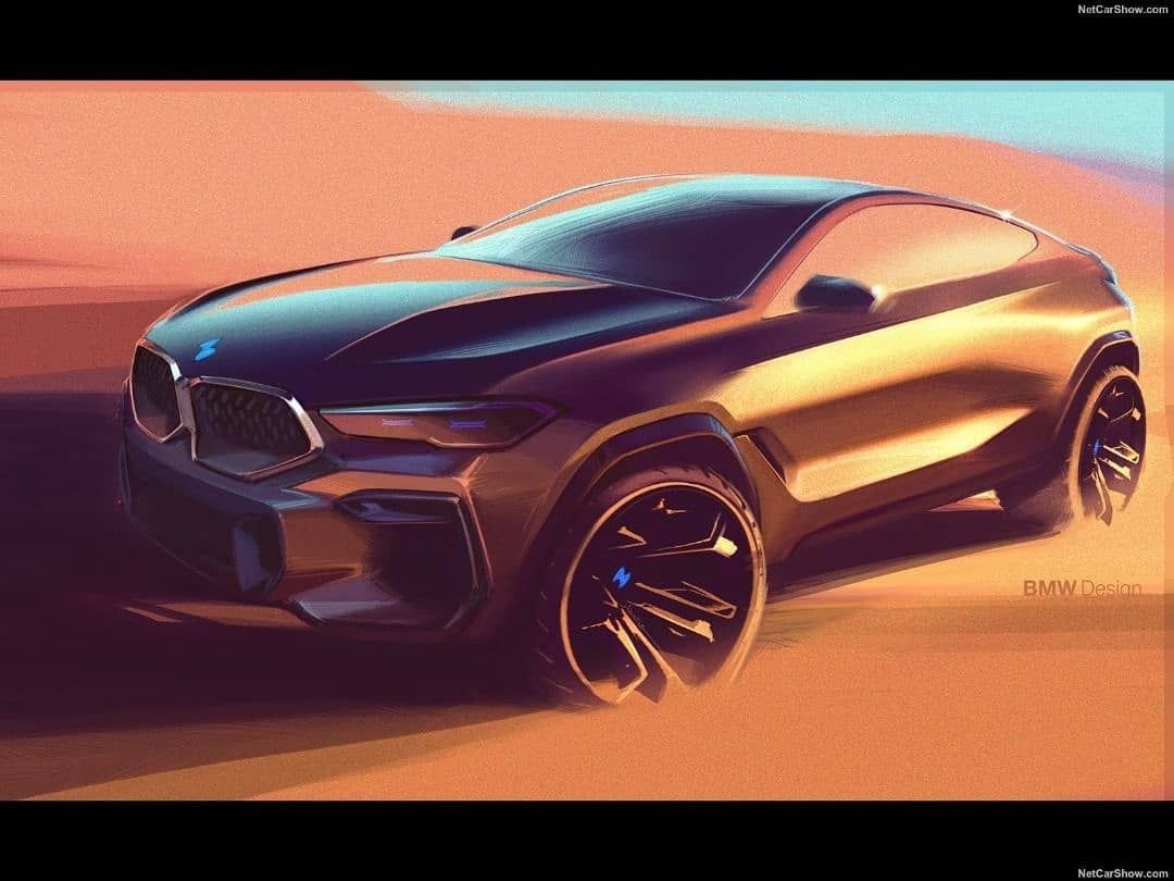 Hot Road News On Instagram New Bmw X6 M50i 2020 Official Sketches By Bmw Bmw X6 Futuristic Cars Design New Bmw