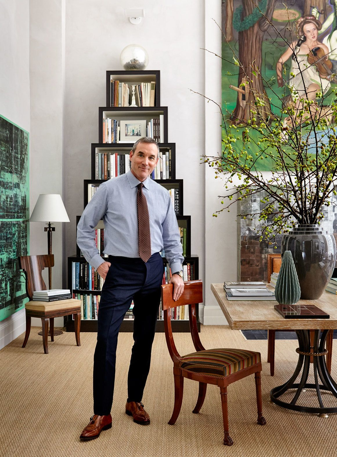 nate berkus and jeremiah brent share their new york city apartment rh pinterest com