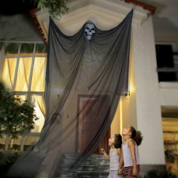 35 Scary Outside Halloween Ghost Dekorationen Ideen Halloween