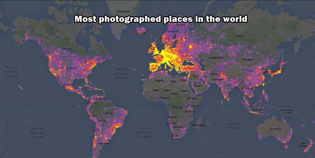 most photographed places in the world mapjpg 1023 most photographed places in the world mapjpg 1023513 pixels Art