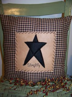 Primitive Country Family Is Everything Inspirational Throw Pillow Home Decor 10 Inches