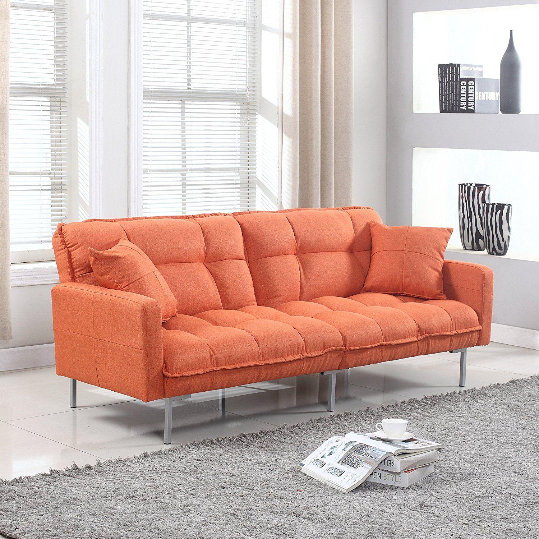 amazon com divano roma furniture collection modern plush tufted rh pinterest com