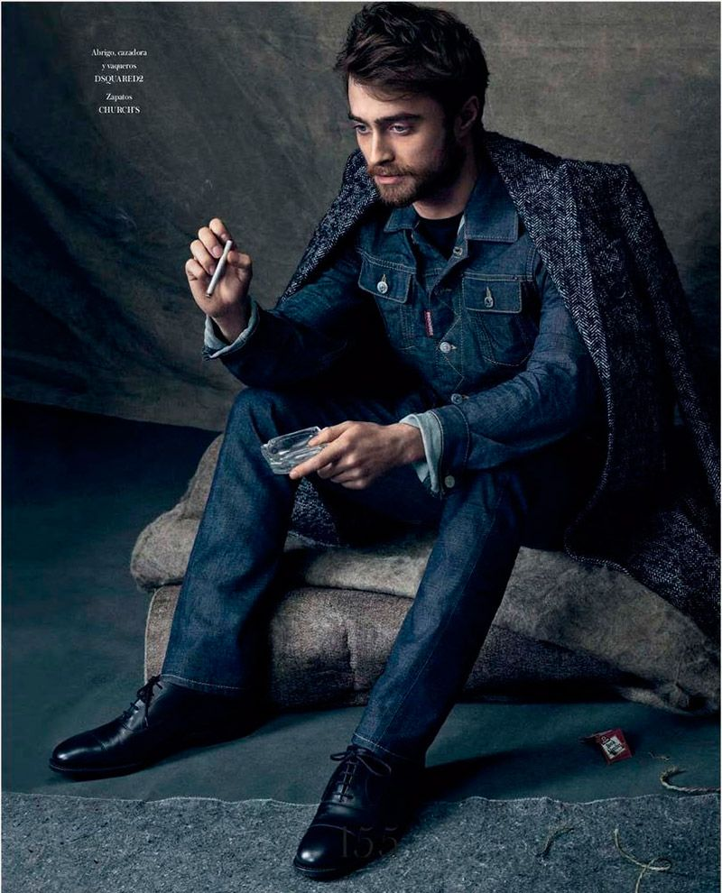 Picture about daniel jacob radcliffe all about man and male - Daniel Radcliffe Icon El Pais 2015 Photo Shoot