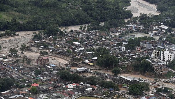 Colombia Deadly River Overflow