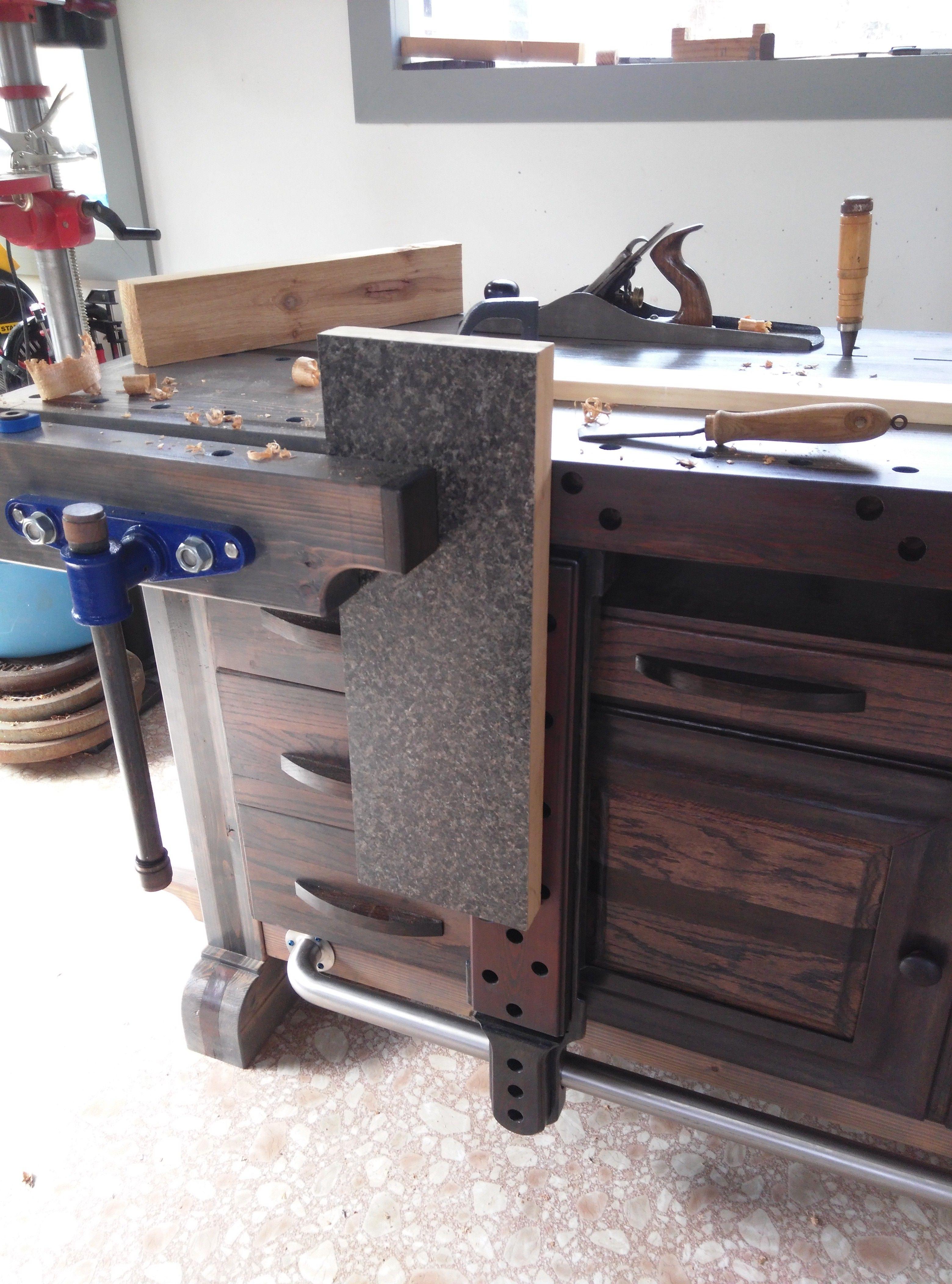 xib s roubo style workbench sliding deadman and front vise xib s rh pinterest com