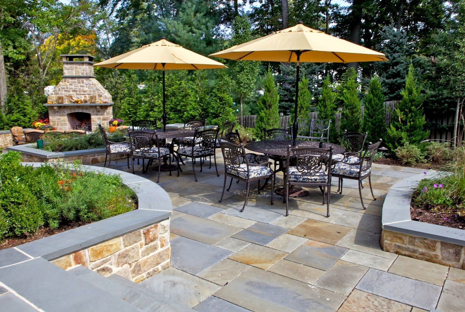 Awesome stone patio designs perfect for your