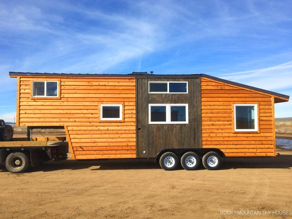 PRINCETON 32 GOOSENECK SHELL Tiny house trailer Tiny