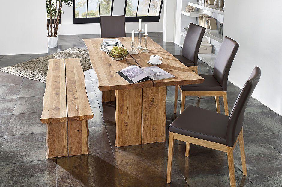 Schosswender Tischgruppe Tisch Bank Stuhl Wildeiche Massiv Mobel Mit Www Moebelmit De Stuhl Holz Eckbankgruppe Modern Kuchendekoration