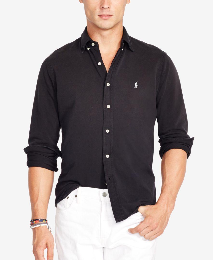 4cdecf5f531 Polo Ralph Lauren Featherweight Mesh Button-Down Shirt