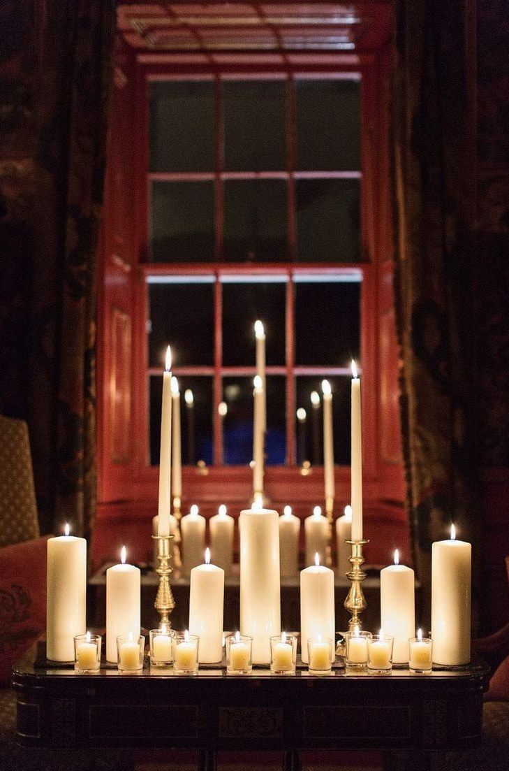 Exchange vows by candlelight Halloween weddings, Wedding and Wedding - halloween wedding decoration ideas