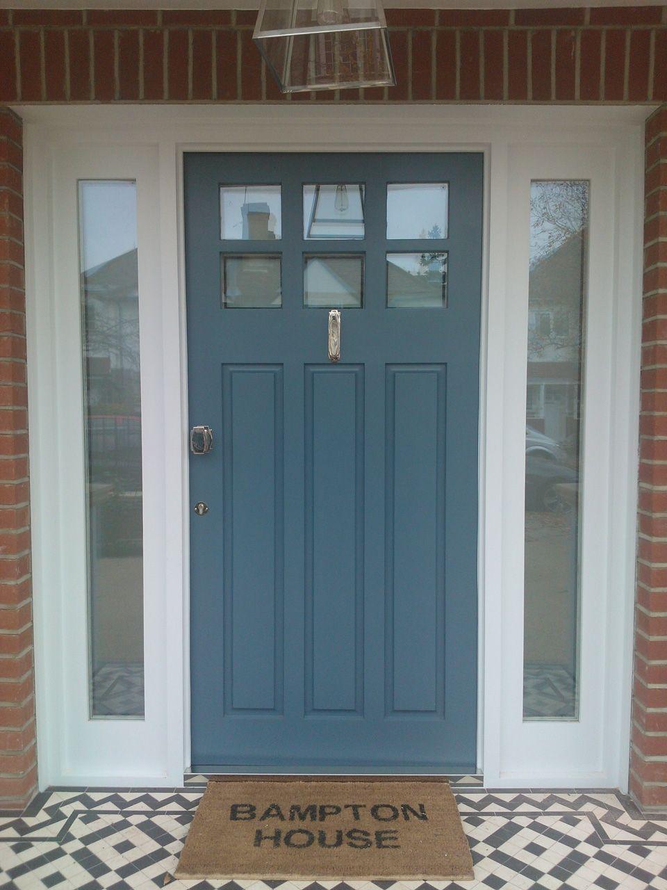 1930s style hardwood front door ramona house doors exterior rh pinterest ca
