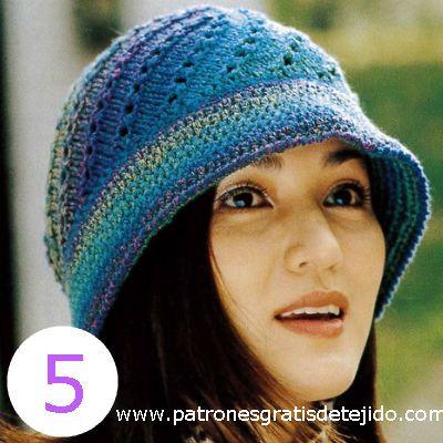 diagrama de gorro tejido con palitos | bufandas y gorros | Pinterest ...