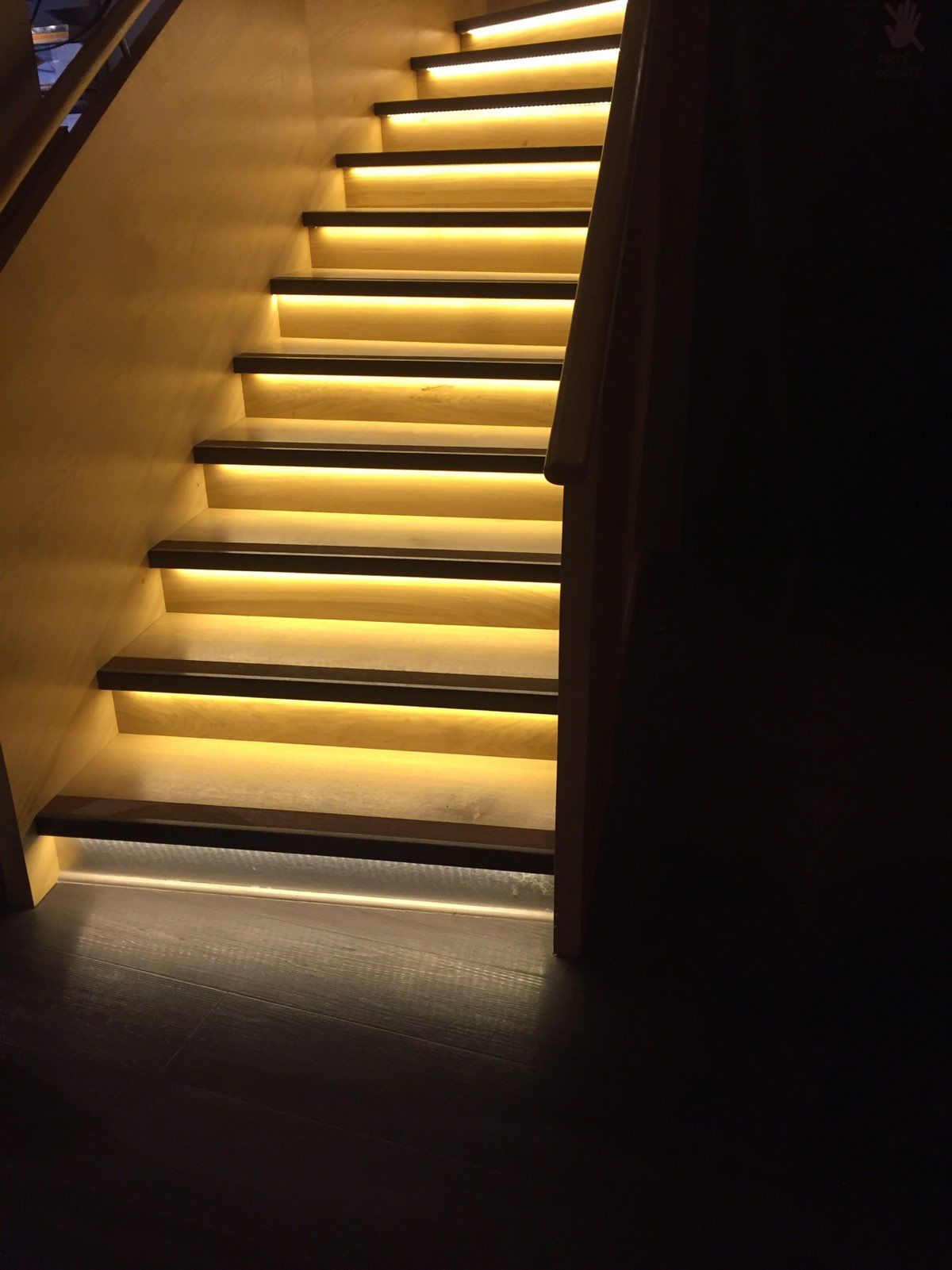 Ruban Eclairage Led éclairage D Escalier En Ruban Led Éclairage Au Led Stair