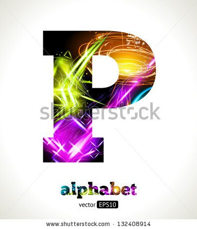Letter P Designs Design Abstract