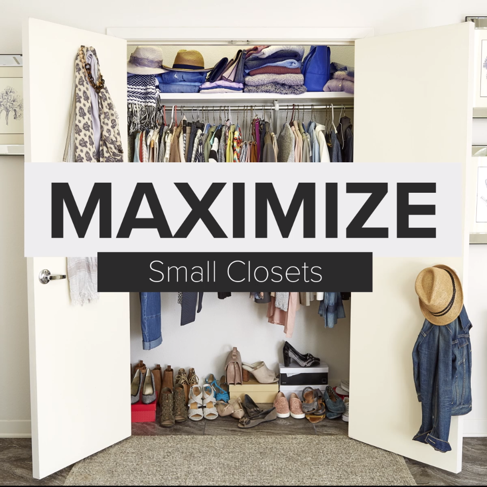 how to maximize space in a small closet step by step project in rh pinterest com best way to organize a bedroom how to organize a bedroom without closet