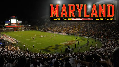 Ncaa Football The College Of William Mary Vs University Of Maryland Capital One Field At Byrd Stadium Colle University Of Maryland Maryland College Park