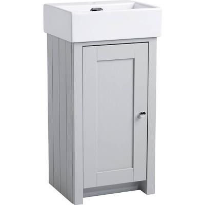 small sink with vanity unit   Small Toilets Ideas Downstairs Loo ...