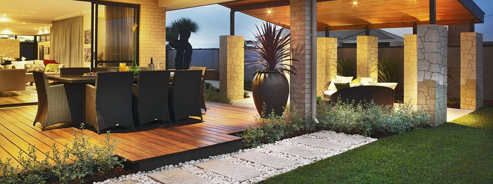 BACKYARD GARDEN DESIGNS PERTH Front garden design