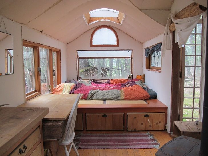build a gypsy wagon in the woods all it takes is ingenuity elbow rh pinterest com